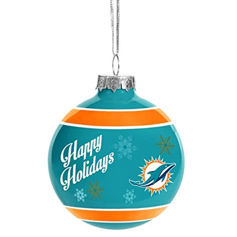 miami dolphins christmas ornament christmas dolphins