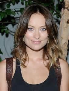 Olivia Wilde Ombre Hair