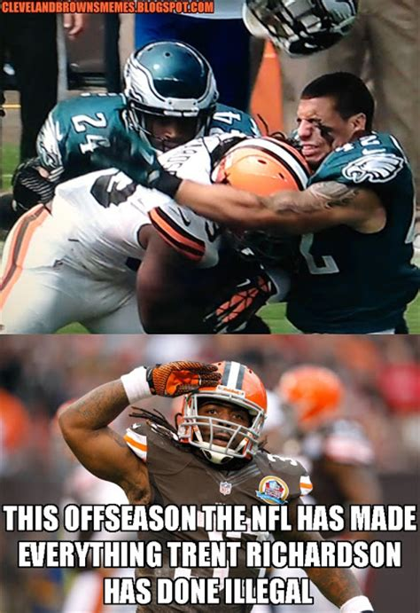 Trent Richardson Meme - cleveland browns memes august 2013