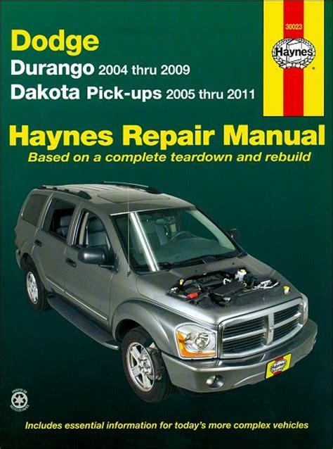 old cars and repair manuals free 2004 dodge neon interior lighting dodge durango dakota repair manual 2004 2011 haynes 30023