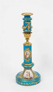 antique pair of sevres porcelain and ormolu candlesticks With best brand of paint for kitchen cabinets with different types of candle holders