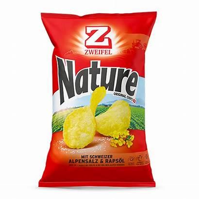 Chips Nature Zweifel 90g Paprika 280g 185gr