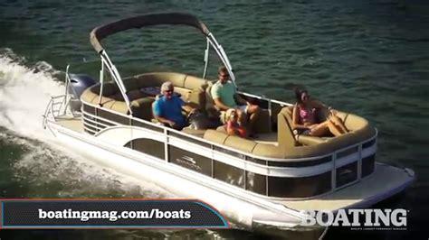 bennington  gsr  pontoon boat test youtube