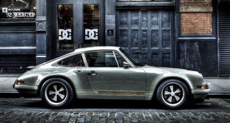 Porche Nyc by 911 Re Imagined By Singer In New York