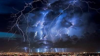 Lightning Strike Thunder Wallpapers Storm Dark Flash