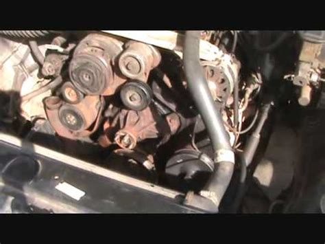 1988 Chevy K1500 Serpentine Belt Diagram by 1988 Chevy Water Replacement