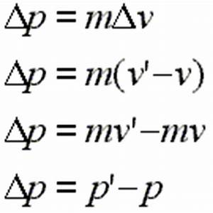 Gallery For > Simple Equation For Momentum