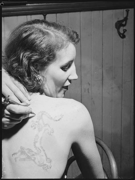 The Tattooed Venus and the Girl with the Dragon Tattoo - Sydney 1937 - Flashbak