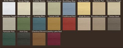 hardie siding colors hardie board siding exles of hardie siding