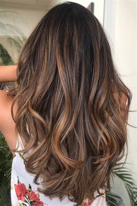 highlighted hair colors best 25 hair colors ideas on