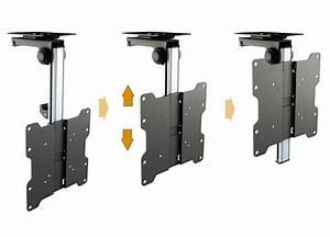 Tv Deckenhalterung Schwenkbar : tv deckenhalterung neigbar schwenkbar wandhalter monitorhalterung klappbar d0122 ebay ~ Orissabook.com Haus und Dekorationen