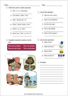 thisthatthesethose images english lessons