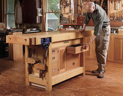 bench tool cabinet finewoodworking