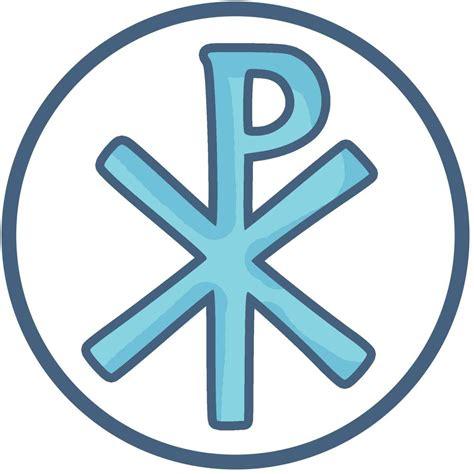 chi rho christogram  ancient symbol