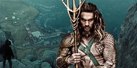 Aquaman Set Photos Show Momoa In Amnesty Bay  Screen Rant