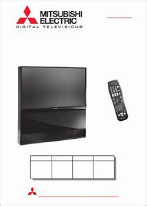 Mitsubishi Electronics Projection Television WS 48513, WS