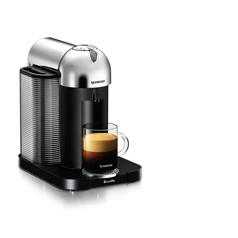Select from our range of originalline capsule machines, ideal for the space conscious espresso based coffee lover who also enjoys long blacks, lattes, cappuccinos and flat whites. Nespresso Vertuo Coffee and Espresso Machine by Breville, Chrome $99 - Slickdeals.net