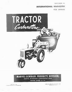 Ih Tractors Series Tsx Workshop Repair Service Manual Pdf