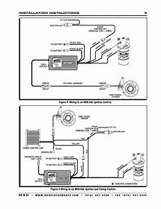 Msd 8610 Chevy Small Block Crank Trigger Kit User Manual