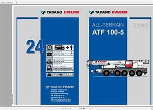 Tadano Mobile Crane Atf 100