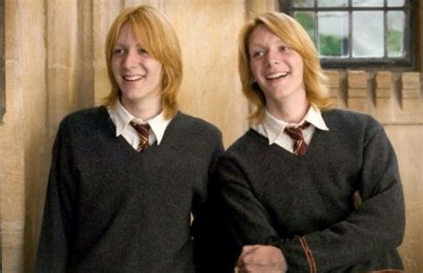 Favourite Pic Of Them Ever Their Long Hair Is So Hot ️ Fred And George Weasley