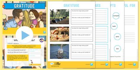 * New * Ks2 Bbc Children In Need Gratitude Lesson Pack