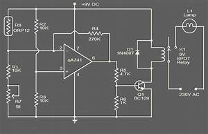 Lampu Otomatis Menggunakan Photocell  Ldr