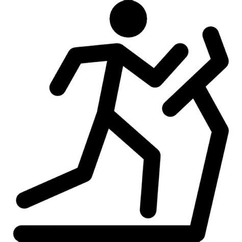 coller homme marche sur un tapis roulant t 233 l 233 charger icons gratuitement