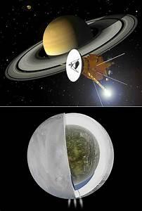 Saturn Moon Contains Massive Ocean of Liquid Water ...