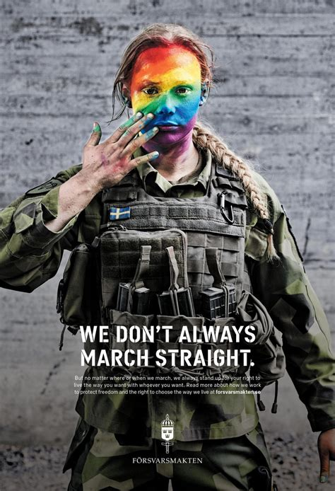 swedish armed forces  dont  march straight