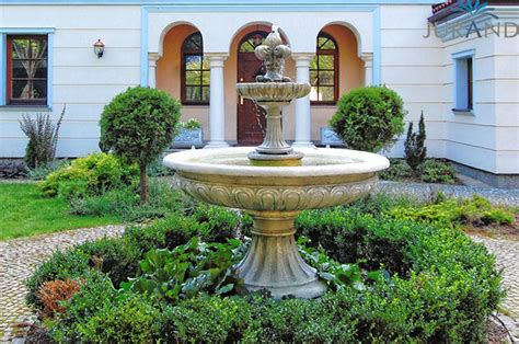 Springbrunnen Fontäne Zierbrunnen Garten Deko Brunnen