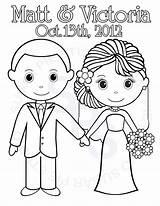 Coloring Groom Bride Printable Children Personalized Colouring Need Themed Bbc Activity Sheets Colour Table Favor Later Activities Respectively Busy Keep sketch template
