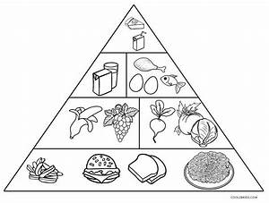 Pyramid Coloring Page Pages Sketch Coloring Page