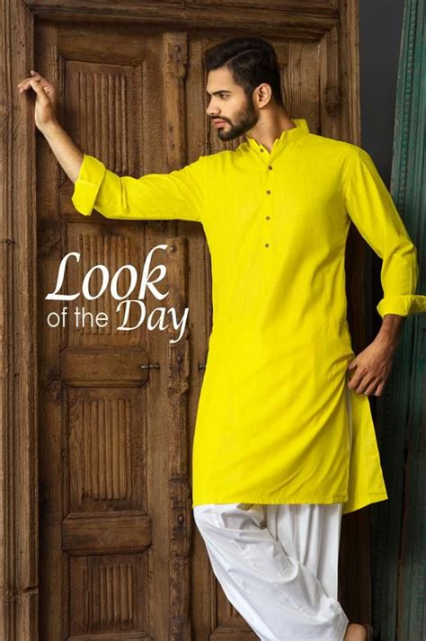 yellow kurta men google search kurta men kurta pajama