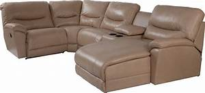 dawson casual five piece reclining sectional sofa with las With 5 piece sectional sofa with chaise
