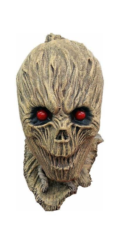 Scarecrow Mask Shrunken Latex Halloween Masks Productions