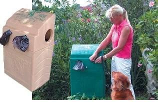 dogipot   dog valet polyethylene pet waste station