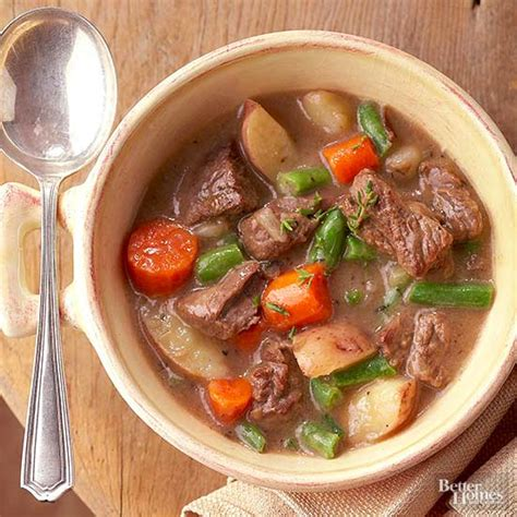 better homes and gardens beef stew recipe hearty vegetable beef stew