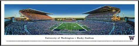 university  washington husky stadium framed print