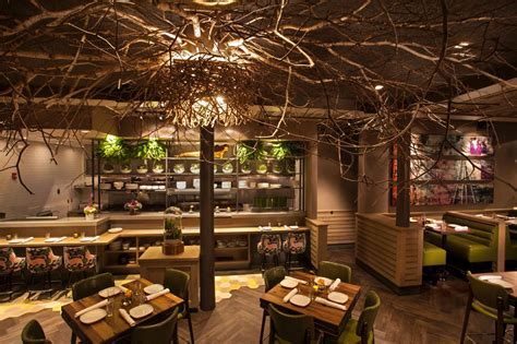 10 best nature inspired lights glowing tree canopies illuminate restaurant tree