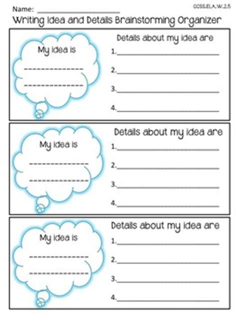 freebie 6 1 writing traits ideas and details