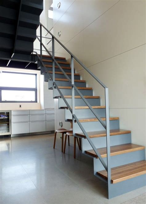 metal staircase images  pinterest interior