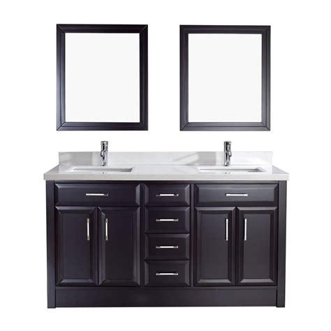 studio bathe vanity studio bathe calais 63 in vanity in espresso with solid