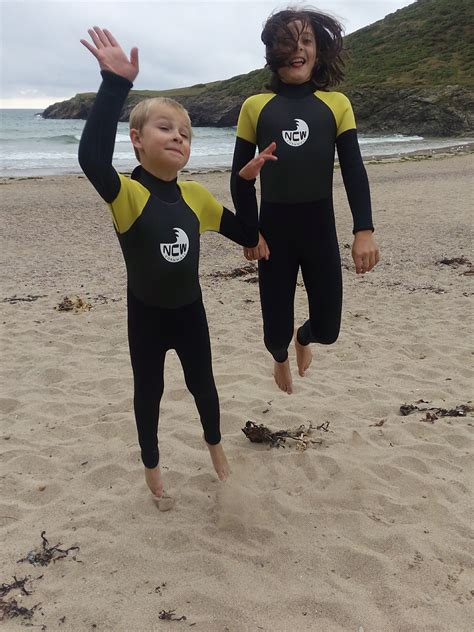 kids junior 5mm full wetsuit all watersports beach use