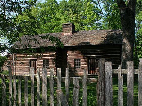 chambre cabane les maisons américaines