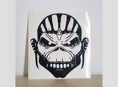 Iron Maiden The Book of Souls Decal Iron Maiden Collector