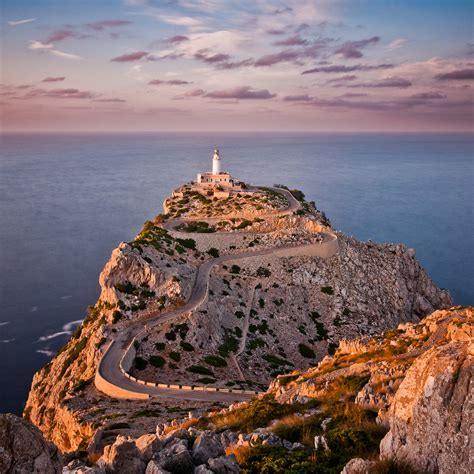 Faro De Formentor Formentor Lighthouse On The