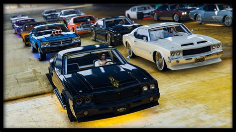 "Gta 5 Online New ""sabre Turbo Custom"" Car Show! (best"