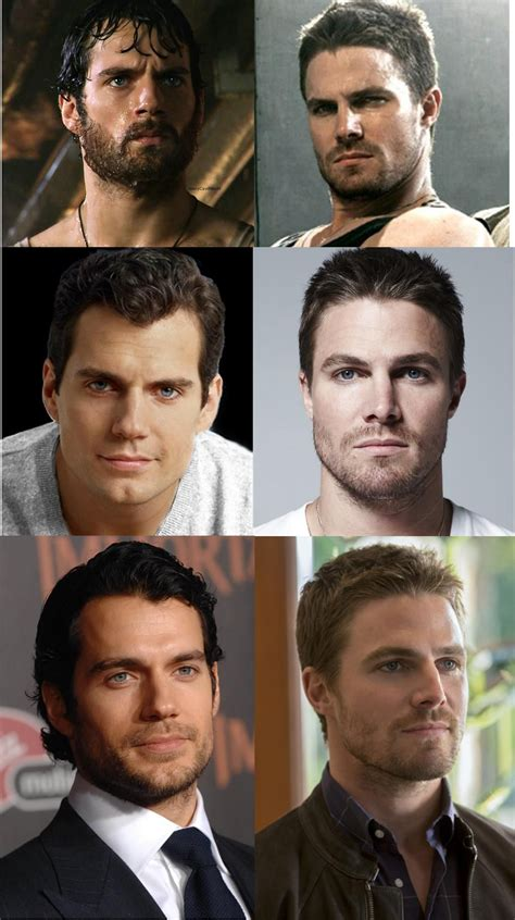 Possible Brothers: Henry Cavill and Stephen Amell   Hot ...