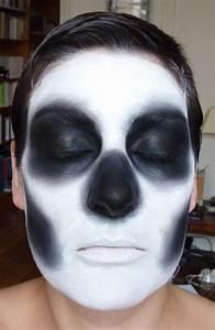 Maquillage Squelette Facile : maquillage halloween squelette facile garcon ~ Dode.kayakingforconservation.com Idées de Décoration